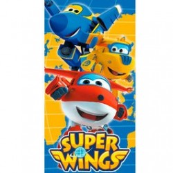 Toalla Super Wings Microfibra 70x140cm.