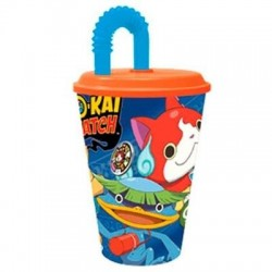 Vaso de Caña Yo-kai Watch 430ml