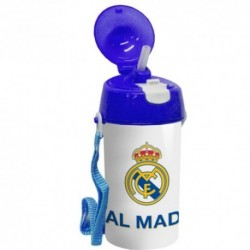 Cantimplora C/Pajita Real Madrid 500ml