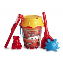 Cubo Playa Cars Disney Palas Moldes