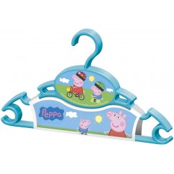 Pack 3 Perchas Peppa Pig