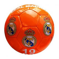 Balon Real Madrid Fluor Naranja Grande