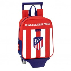 Mochila Trolley Atletico Madrid Guarderia 22x10x27cm.