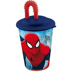 Vaso de Caña Spiderman Marvel 430ml