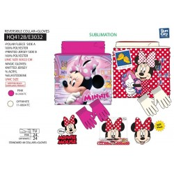 Braga De Cuello Guantes Minnie Disney Polar