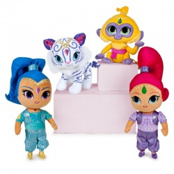 Peluches Shimmer and Shine 6Und. 19cm-26cm