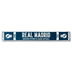 Bufanda Telar Real Madrid En Percha