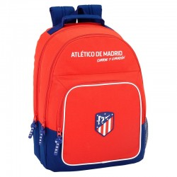 Mochila Atletico Madrid Doble Adaptable 32x16x42cm.