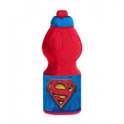 Botella Plastico Superman 400ML.