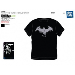 Camiseta Adulto Batman 3Und.T.M-L-XL