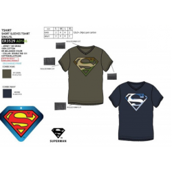Camiseta Larga Adulto Superman 2Und.T.M-L