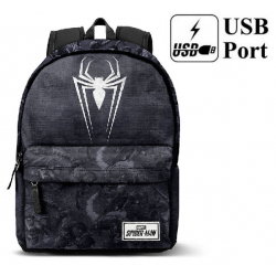 Mochila Spiderman Marvel Poison 42x30x20cm.