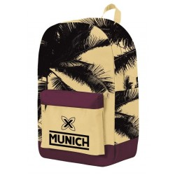 Mochila Munich Palmeras Adaptable 31x44cm.