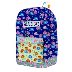 Mochila Munich Flor Adaptable 31x44cm.