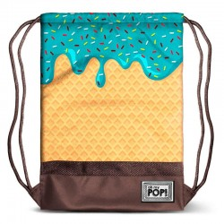 Saco Mochila Ice Cream Oh My Pop 34x47x1cm.