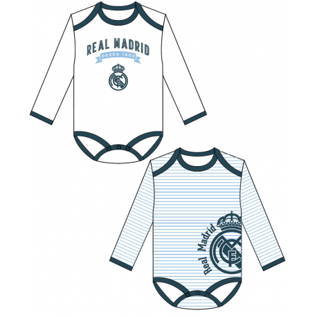 Set 2 Bodys Real Madrid T.12 M