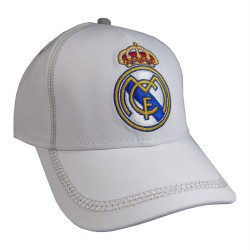 Gorra Real Madrid Blanca Junior