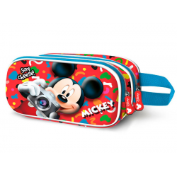Portatodo 3D Mickey Disney Doble 10x22,5x7cm.