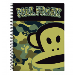 Bloc Carton A4 Microperforado 120 Hojas Paul Frank