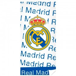Toalla De Playa Real Madrid 75x150cm.Algodon