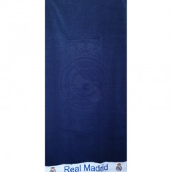 Toalla De Playa Real Madrid 86x160.Algodon