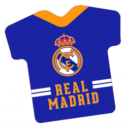 Cojin Real Madrid Forma 40x38x7cm
