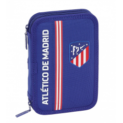 Plumier Atletico Madrid Doble 34Pcs.