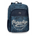 Mochila Escolar Roll Road Palm Adap 40x30x13cm