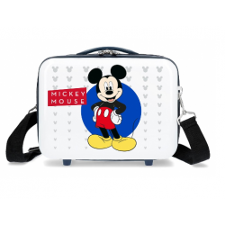Neceser ABS Adaptable A Trolley Mickey Disney 21x29x15cm