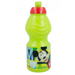 Botella Plastico Mickey Disney 400ML.