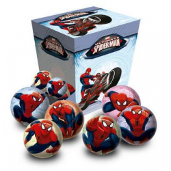 Expositor Pelota Spiderman Marvel 30Und. 6Cm