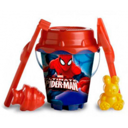 Cubo Spiderman Marvel Con Castillo Y Moldes