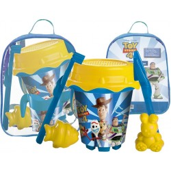Cubo Mochila Toy Story Con Model,Regadera