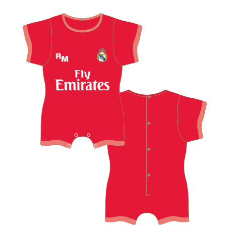 Pelele Bebe Real Madrid T.12m