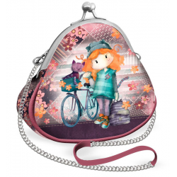 Bolso Retro Ninette Forever Bicycle 10x6x11cm.
