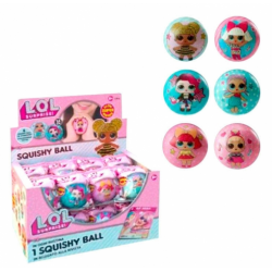 Bola Squishy Surtida Lol Surprise 7.6cm.