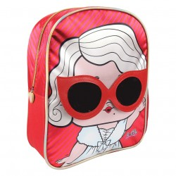 Mochila Infantil Lol Surprise 25x31x10cm.