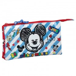 Portatodo Mickey Maker Disney Triple 22x12x3cm.