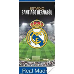 Toalla De Playa Real Madrid 70x140cm.Algodon