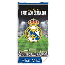 Toalla De Playa Real Madrid Microfibra 70x140cm.