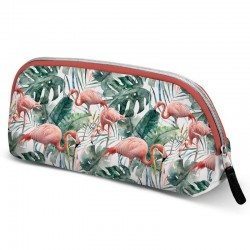 Neceser Oh My Pop Tropical Flamingo 13x6x25cm.