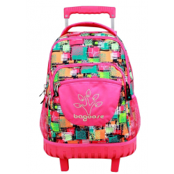 Trolley Compact Patchwork Bagoose 33x45x21cm.