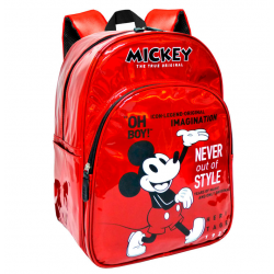 Mochila Mickey Disney 90 Years Adap.33x42x14cm.