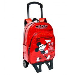 Mochila Carro Mickey Disney 90 Years 33x42x14cm.