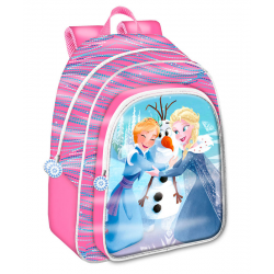 Mochila 5D Frozen Disney Adaptable 33x42x14cm.