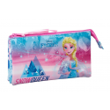 Portatodo Frozen Ice Magic Disney Triple 22x12x3cm.