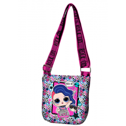 Bolso Bandolera LOL Surprise Rock & Roll 18x20cm.