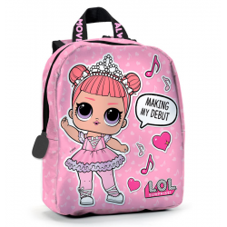 Mochila LOL Surprise Dance 22x27x8,5cm.