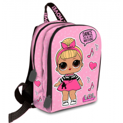 Mochila LOL Surprise Dance 25x32x10cm.