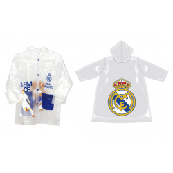 Impermeable Transparente Real Madrid 3Und.T.4-6-8